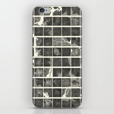World Cities Maps iPhone & iPod Skin