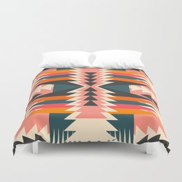 Colorful ethnic decoration Duvet Cover
