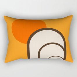 Birch Sunset Rectangular Pillow