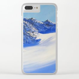 Pitztal I Clear iPhone Case