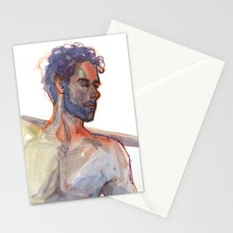 DENNIS, Semi-Nude Male by Frank-Joseph Stationery Cards