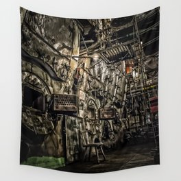 The Boiler Room Wall Tapestry