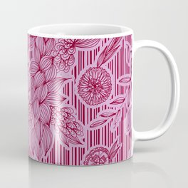 Calliope Floral Stripes Coffee Mug