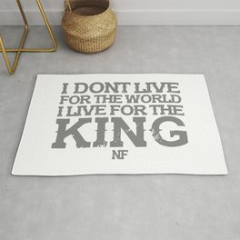 NF MUSIC QUOTES Rug