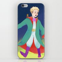 le petit prince iPhone & iPod Skins featuring Le Petit Prince by parkers