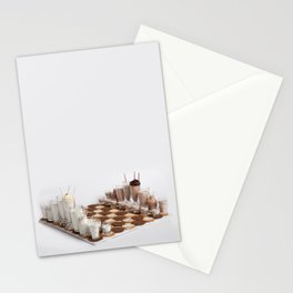 Cookies and Milk Chess Set Stationery Cards