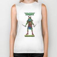 ninja turtle Biker Tanks featuring teen age,mutant,ninja turtle by store2u