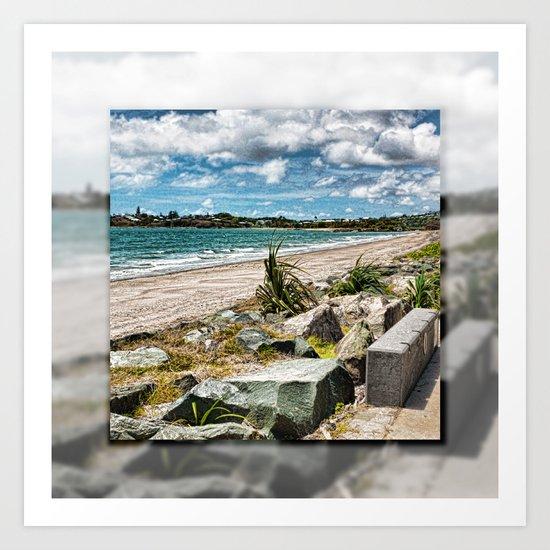 Beautiful Bay View Art Print
