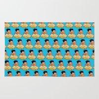 goku Area & Throw Rugs featuring Son Goku by husavendaczek