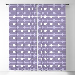 Dots Stripes Ultraviolet Blackout Curtain
