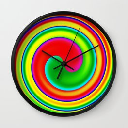 Optic Trip Wall Clock