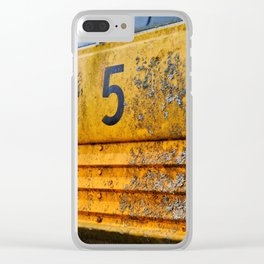 Bus No. 5 Clear iPhone Case