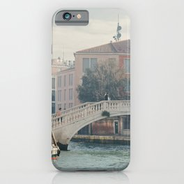 Bridge in Venice iPhone Case