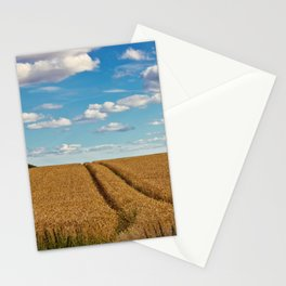 In Golden Fields Stationery Cards
