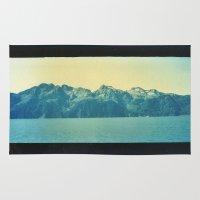 alaska Area & Throw Rugs featuring Alaska by Taylor Palmer
