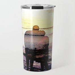 Love in the Sunset Travel Mug