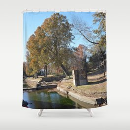 Northeastern State University - Hendricks Spring, No. 15 Shower Curtain