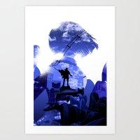 bioshock Art Prints featuring Bioshock by LynxArtCollection