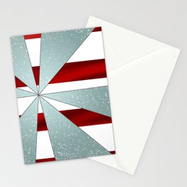 4Shades Glass: Red White Stationery Cards