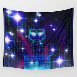"""""""Face of the Universe"""" by surrealpete Wall Tapestry"""