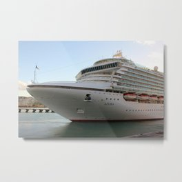 MV Azura cruise ship Metal Print