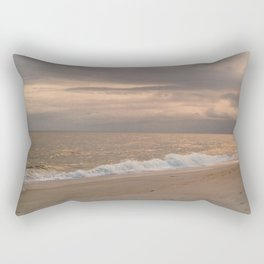 Golden Sunrise Rectangular Pillow
