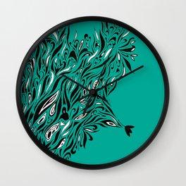 Shrubs Wall Clock