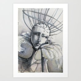 Cautiva Art Print