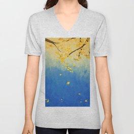 Fall Painting Unisex V-Neck