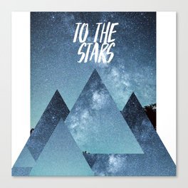 Take me To The Stras Canvas Print