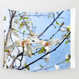 Spring Tree Flowers Wall Tapestry