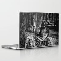 gandalf Laptop & iPad Skins featuring Gandalf the Grey by MistyAnn @ What the F-stop Prints