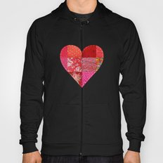 Patched Heart Hoody