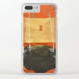 A Room in the Woods Clear iPhone Case