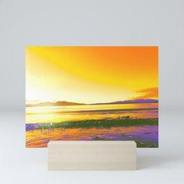 Oban Horizon   Musical Crime Productions   Scottish Seascape Mini Art Print