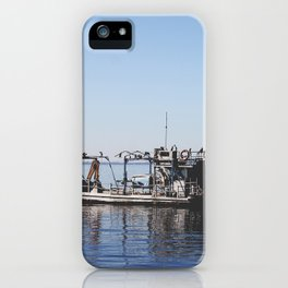 The Fisherman. iPhone Case