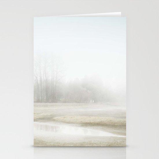 Mysterious Treeline Stationery Cards