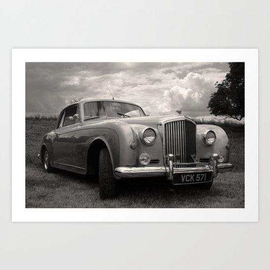 Classic Bentley Art Print