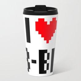 i (heart) 8bit Travel Mug