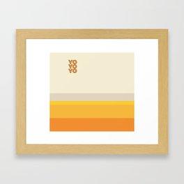 yo Framed Art Print
