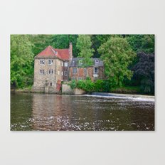 Fulling Mill House at Durham Canvas Print