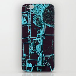 9-1-1 blue iPhone Skin