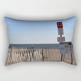 Beach Closed Rectangular Pillow