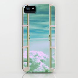 The View From Up Here iPhone Case