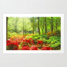 Callaway Gardens, Pine Mountain, Georgia Art Print