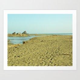 Navaro Beach II Art Print