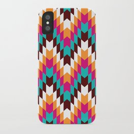 Tribal Chevron II iPhone Case