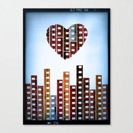 You Make This City Memorable Canvas Print