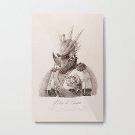 Alastair A. Cosaurus Metal Print