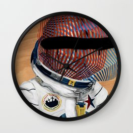Spaceman No:2 Wall Clock